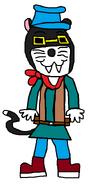 Gomez Cat (pajamas)