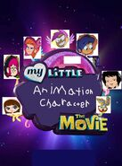 My Little Animation Character The Movie-2