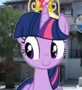 Twilight Sparkle in Crossover Kids