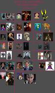 Unofficial Non-Disney Villains (Movies236367's Version)