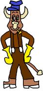 Fitz Cow (Reindeer 2 (Dancer))