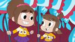 S02E20 Audrey y Zoe sonriendo