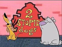 2 Stupid Dogs (title card)