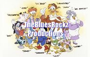 TheBluesRockz Productions Logo