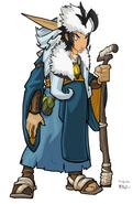 Human Mighty Eagle as Human Kor