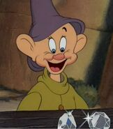 Dopey in Snow White and the Seven Dwarfs