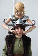 How to train your dragon astrid and hiccup by haricovert cosplay-d4hv81p