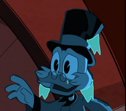 Frozen Scrooge McDuck is Crying by Thebackgroundponies2016Style