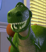 Rex in Toy Story