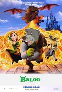 Baloo (Shrek) poster