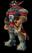 Professor Ratigan as Baron Praxis