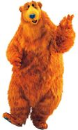 Bear (Bear In The Big Blue House) as Louis