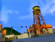 WB Water Tower in CGI