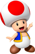 Toad Nintendo Kids Club UK