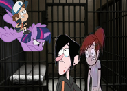 Twilight and Dipper Rescue Robbie and Frankie to Jail