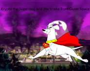 Krypto the Superdog and the Snake from Outer Space