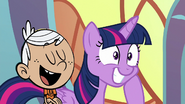 MLPCVTFQ - Lincoln Loud says for Twilight Sparkle Just look at the world around you.