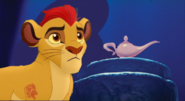 Kion Finds a Lamp by ChannelFiveRockz