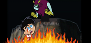 Danny Fenton and Lord Hater 2 by Thebackgroundponies2016Style