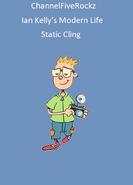 Ian Kelly's Modern Life Static Cling