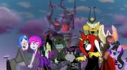 MLPCV - Grim Gloom, Hildy, Vlad, Nicolai, Mitch, Lord Hater, Lord Wander, Princess Twivine Sparkle and Vexus
