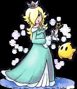 Mario luigi rpg style rosalina and luma by master rainbow-da96dl1