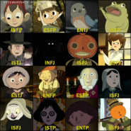 Over the Garden Wall Characters