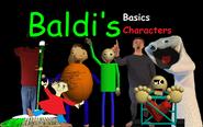 Baldi's Basics Characters