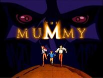 The Mummy Animated Series Title Card