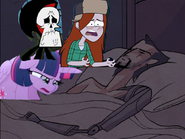 Twilight Grim Reaper and Wendy Cry to Ballister Blackheart dead