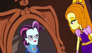 Hildy Gloom Looks at a Mirror of The Spy from Apartment 8-I by Thebackgroundponies2016Style