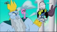 Poseidon Meets Mojo Jojo