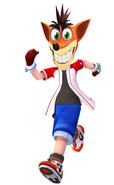 Crash Bandicoot as Kei