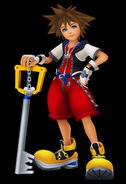 Sora kingdom hearts 1