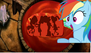 Rainbow Dash s vision 4 by (Thebackgroundponies2016Style)