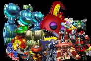 Eggman's robots