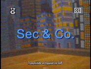 Sec & Co. on Toon Disney (circa November 2004, totally rare and real)