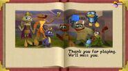 Spyro Year of the Dragon epilogue