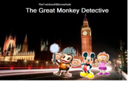 The Great Monkey Detective Poster