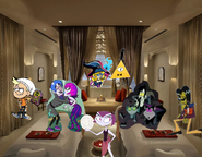 MLPCV - Grim Hildy Vlad Nicolai Mitch Bill Cipher Snazzy Shazam Misty Bratty Kid and Ace in Summer End Credits