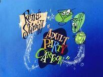 Ren & Stimpy Adult Party Cartoon title-card