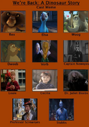 We're A Animal's Story Cast Meme