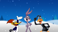 Woody Woodpecker, Bugs Bunny and Daffy Duck by ChannelFiveRockz
