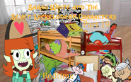 Sarah White and The Seven Nickelodeon Characters Part 19 - Bedtime