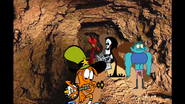 Grim Reaper Wander Radicles and Alastor are Digging by Thebackgroundponies2016Style