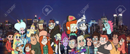 MLPCVTFQ - Star Marco Moon Riven Dipper Mabel Stanley Ford Soos Wendy Squint Sarah and Densa and Jackie Tom Pony Head Janna Alfonzo Ferguson Oskar Marco's Parents in New York City End Credits