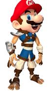 Mario as Jak