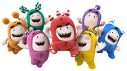 Oddbods Characters