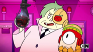 Lord Boxman Holding Bottle by Thebackgroundponies2016Style