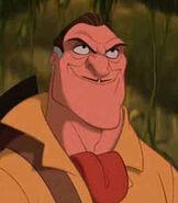 Clayton in Tarzan